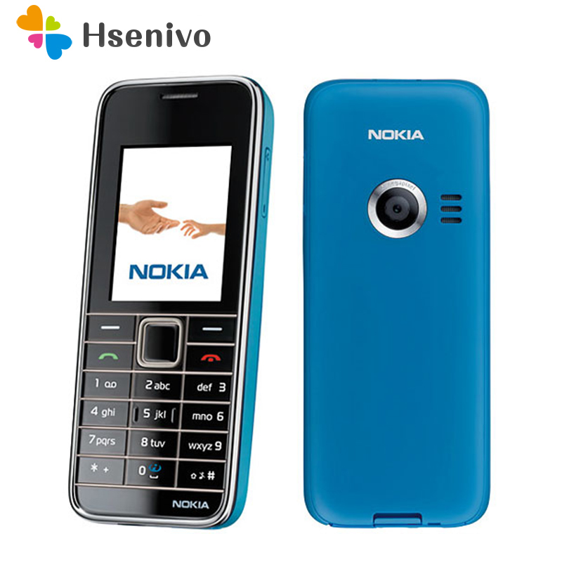 3500 100 Original Nokia 3500 original Mobile phone unlocked quad band FM Radio GSM cellphone Free