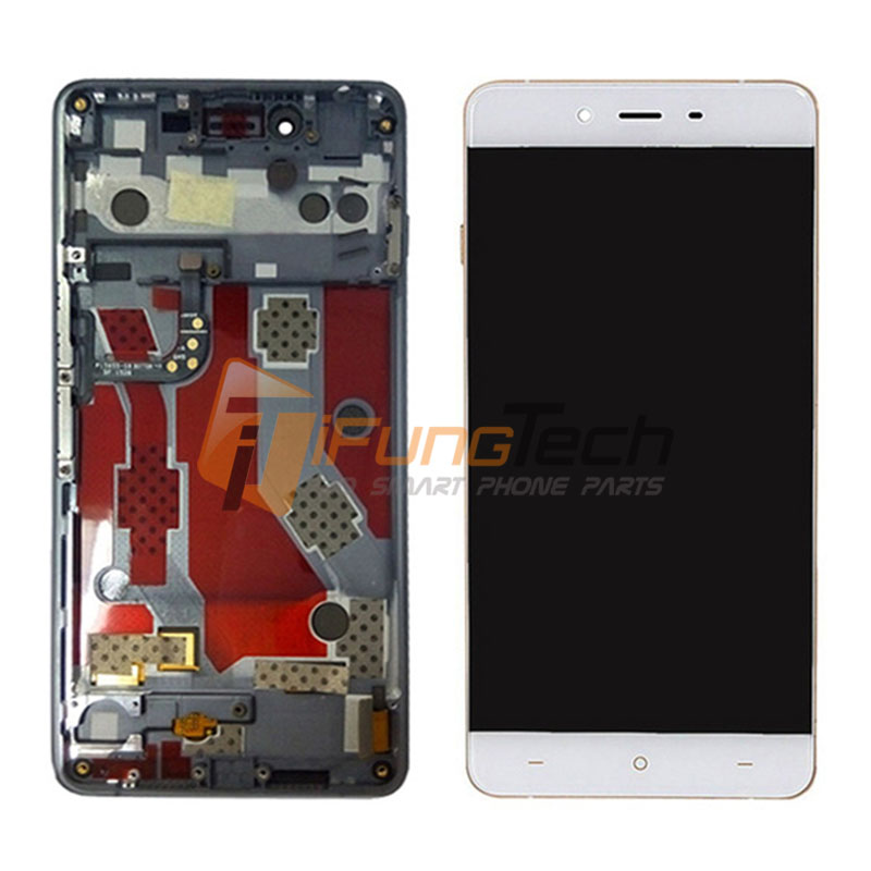 Free DHL For Oneplus X LCD Display With Touch Screen Digitizer with Frame Assembly black & white 10Pcs/Lot 1 pcs for iphone 4s lcd display touch screen digitizer glass frame white black color free shipping free tools