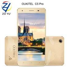 OUKITEL C5 pro 4g LTE Smartphone Android 6.0 Malvavisco teléfono Móvil MTK6737 2000 mAh dual core 5.0HD pantalla 2 GB + 16 GB Celular teléfono