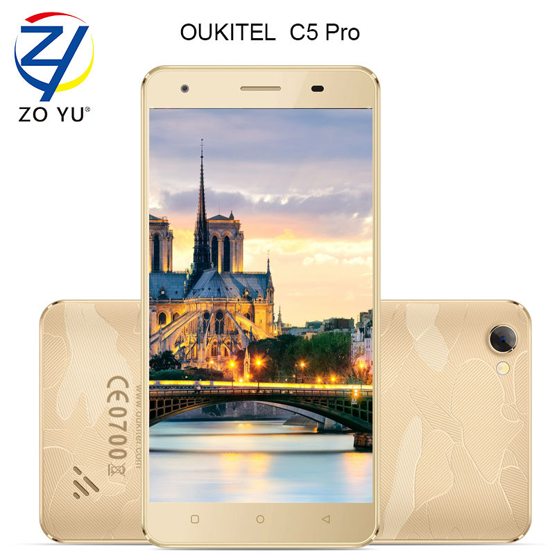 Original OUKITEL 4g Smartphone LTE Android 6 0 Marshmallow Mobile phone MTK6737 2000mAh dual core 5