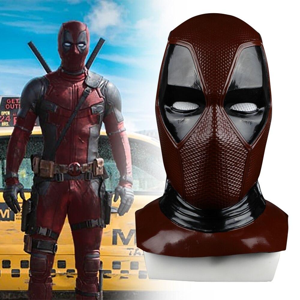 2018 Новая маска Moive Deadpool 2 дышащая ПВХ маска на все лицо Хэллоуин косплей реквизит Оптовая Продажа капот шлем в продаже!