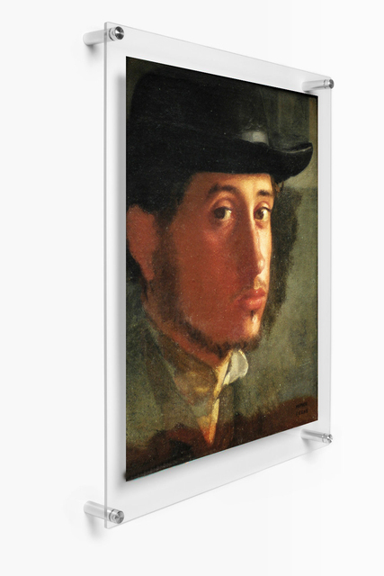 A4 Wall Mounted Acrylic Plexiglass Poster Frames 8x11.5 Inches Wall ...