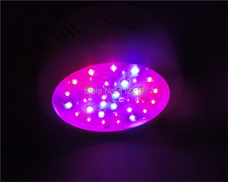 Greenhouse 90w ufo led grow light bright and powerful red 630nm blue 460nm for indoor plants