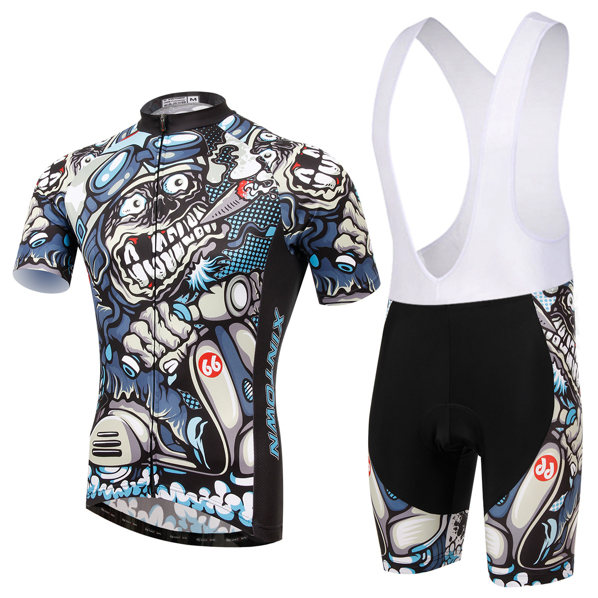 Cycling Set Men Summer Short Sleeve and Bib Shotrs New Anti-sweat Breathable Cool Bicycle Set Road MTB Bike Sportswear Ciclismo