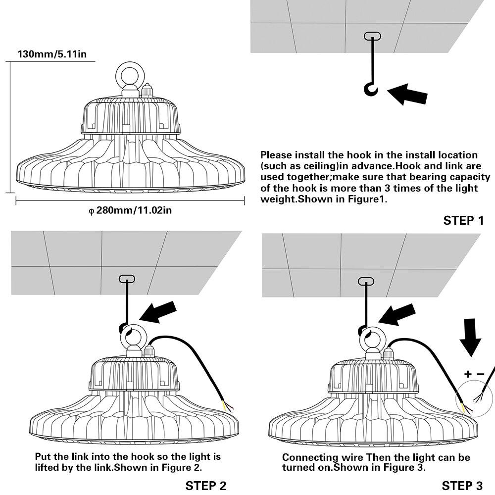 2pcs new style ufo 70w 120w 150w 200w high bay led lights warehouse rh aliexpress com 12V LED Light Circuit Diagram 12V LED Light Circuit Diagram