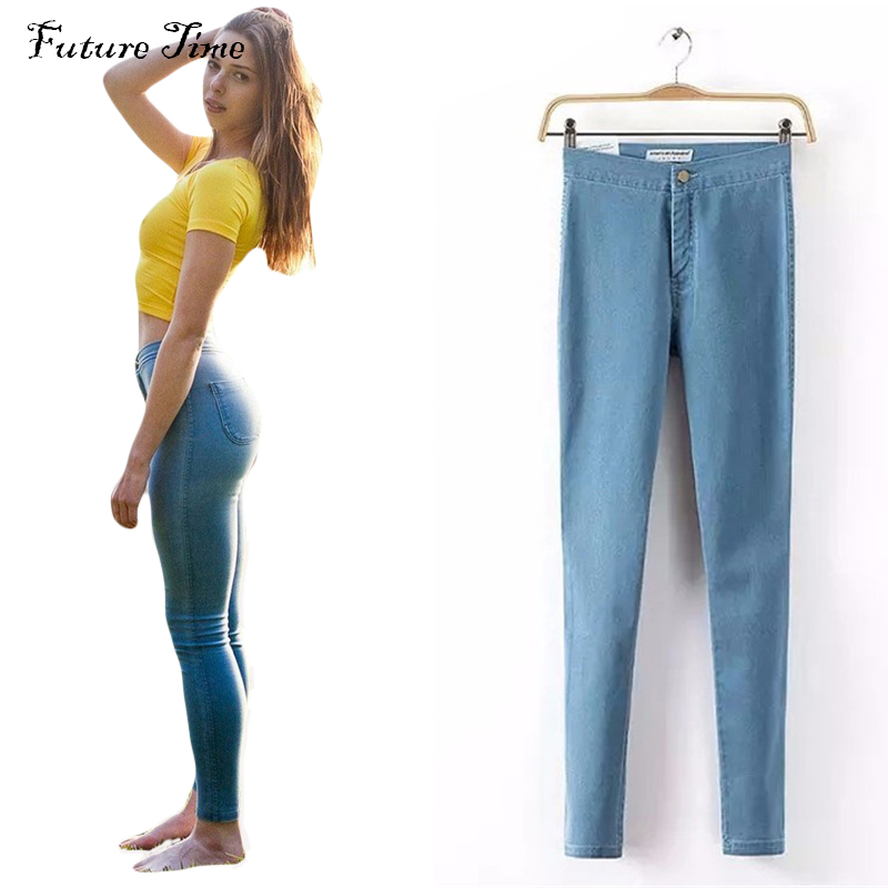 2017 new fashion women jeans,high waist denim jeans,slim casual sexy pencil pants,washed jeans women trousers skinny jeans C0185