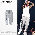 HEYBIG hip hop Sweatpants 2016 New Hot Youth Men street Trousers North America Fashion A/W Pants Asian Size clothing
