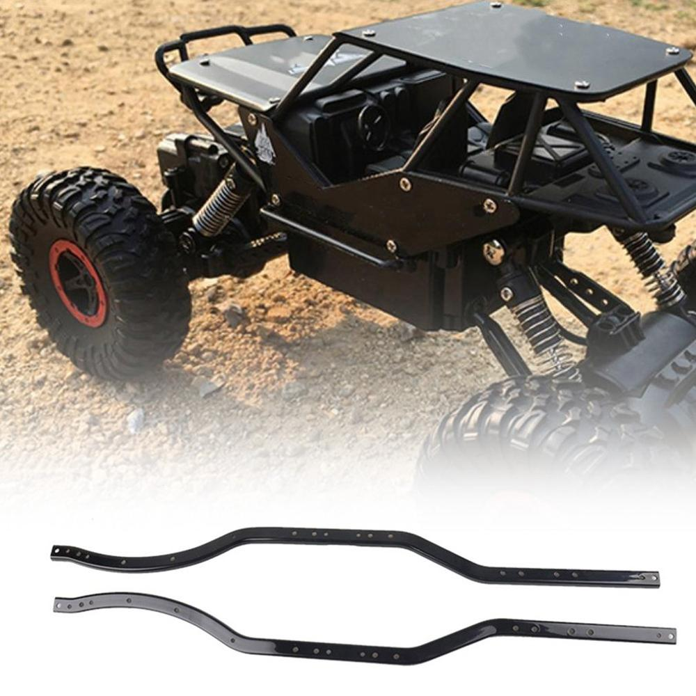 2pcs/set Steel Chassis Frame Rails for AXIAL SCX10 90027 SCX10 II 90046  90047 RC Car Crawler Truck Vehicle Model