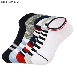 Spring summer woman men no show socks male colorful casual brand ankle socks short striped cotton.jpg 250x250