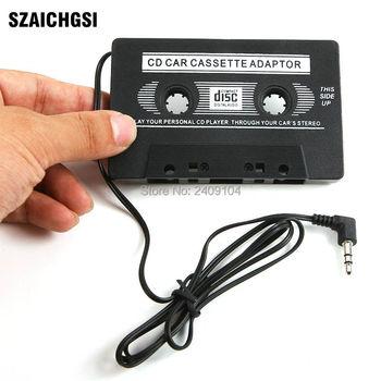 SZAICHGSI nowy dla MP3 CD MD DVD zapewnia czysty dźwięk muzyka samochód kaseta magnetofonowa Adapter bezpłatne DHL FEDEX wysyłka hurtowa 1000 sztuk partia tanie i dobre opinie CASSETTE TAPE ADAPTER
