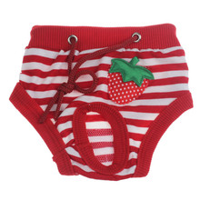 S-XL Female Dog Shorts Puppy Physiological Pants Diaper Striped Pet Underwear for Small Middle Girl Dogs Wholesale noNV9