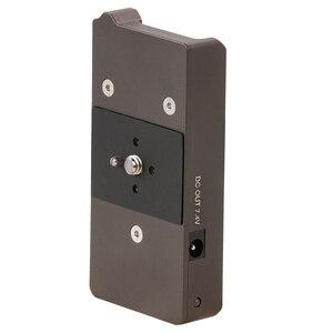 Image 5 - Tilta F970 Battery baseplate 12V 7.4V Output Port with 1/4 20 Mounting Holes