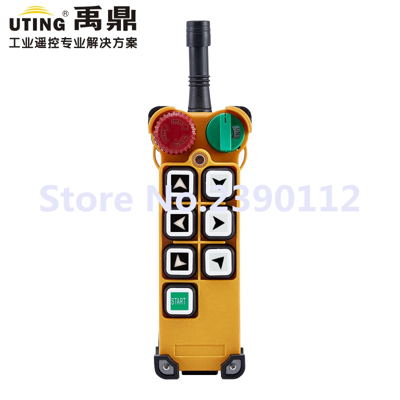 industrial wireless redio remote control transmitter F24-6S for hoist crane 1 transmitter industrial wireless redio remote control transmitter F24-6S for hoist crane 1 transmitter