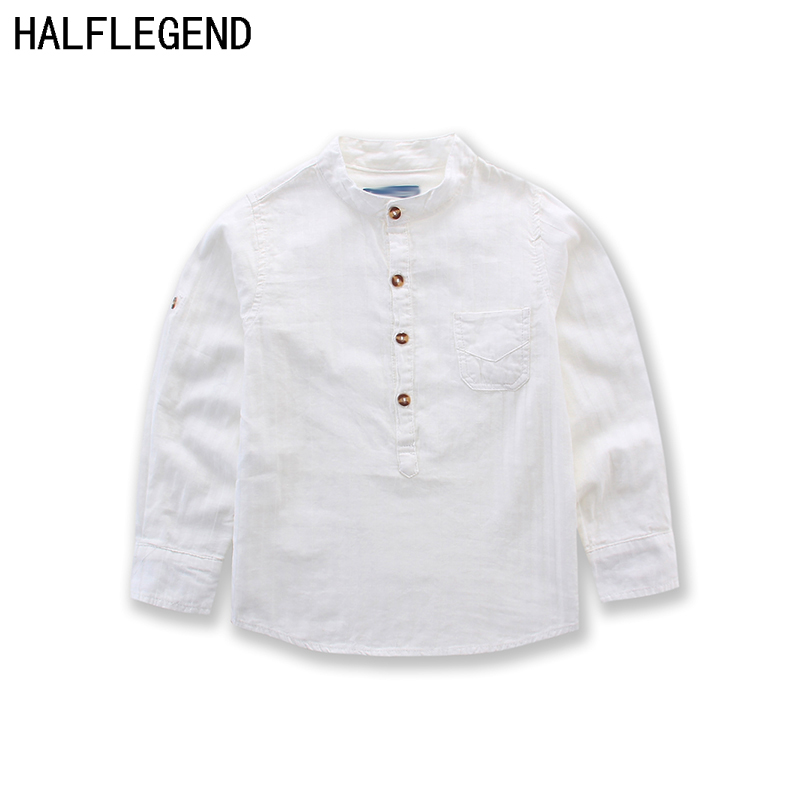 High Quality New Style 2018 Children Boys Shirts England Style 100%Cotton Solid Full shirts kids clothing Boys clothes for 2-14Y high quality indian style 100