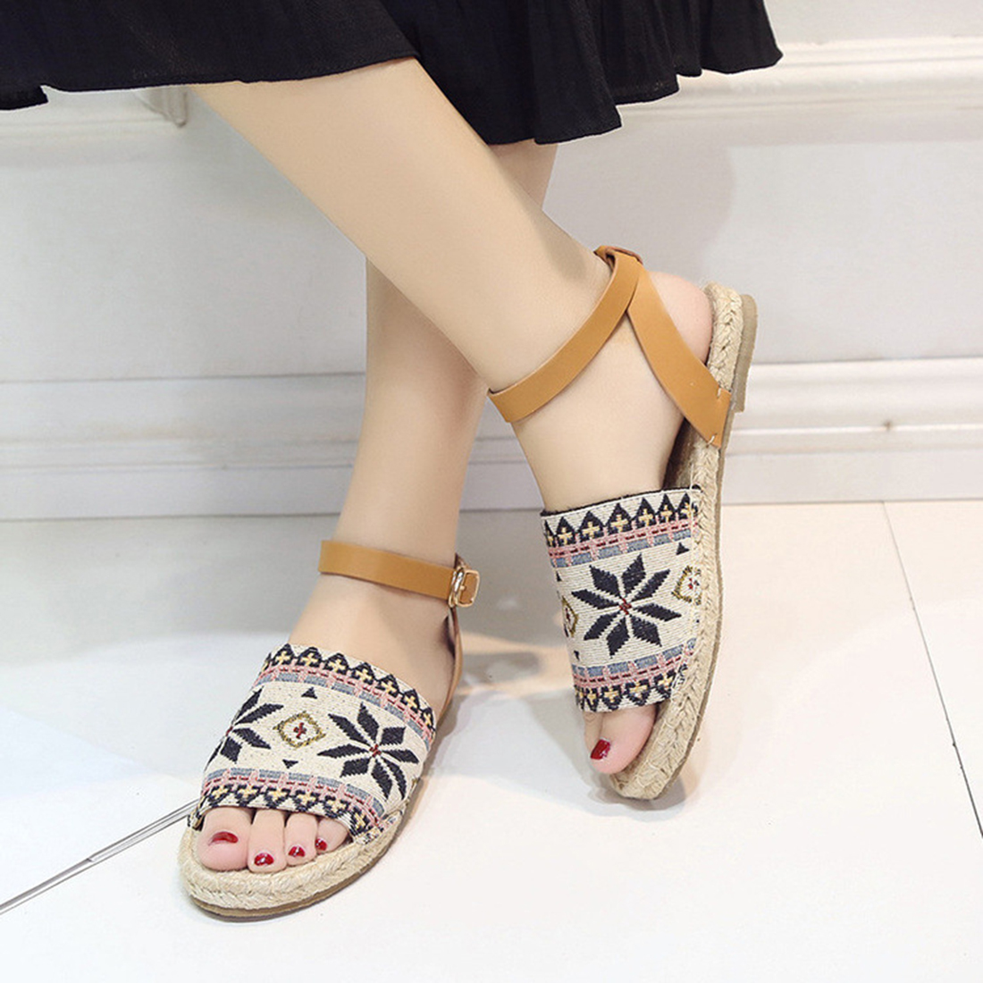 Flat heel sandals images - Brand Shoes Woman New Look Gladiator Sandals Summer Flat Heel Sandals Boots Women Shoes Gift Socks In Women S Sandals From Shoes On Aliexpress Com Alibaba