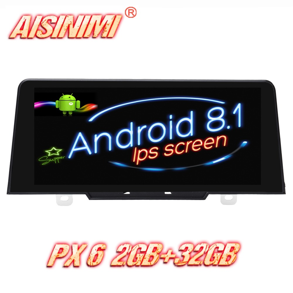 Android 8.1 For BMW 1 Series F20/F21 2017 Original NBT System Car Dvd Navi Player audio stereo car monitor HD screen all in one