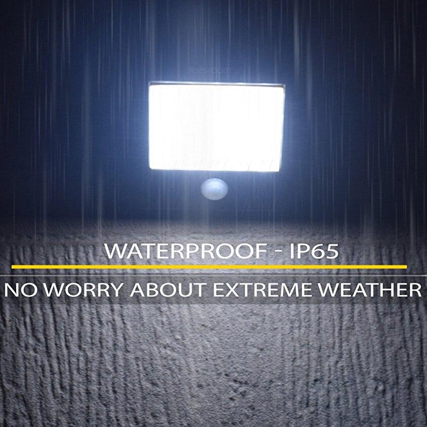 Outdoor Motion Sensor Light Wireless Super Bright Waterproof Heatproof Solar Lights 20 LED exterior Security Wall Lamp Patio