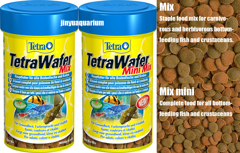 Tetra wafer mix mini suckermouth catfish benthic fish for Bottom feeder fish list
