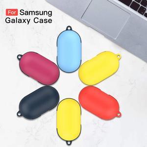 Image 1 - Capinha para gomos galaxy sido, anti risco e anti perdido, capa protetora dura para samsung galaxy buds com chaveiro