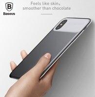 BASEUS Brand Slim Lotus Series PC TPU Hybrid Upgraded Texture Back Case For IPhone 8 Phone