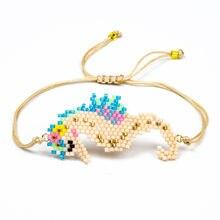 fb6b10d0e60d Shinus 5 unids lote Miyuki cuerda pulsera de cadena pulsera de cuentas Miyuki  pulseras de mujer caballito de mar Delica cuentas .