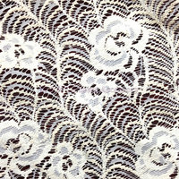 The New Dyed Lace Nylon Fabric Openwork Lace Fabric No Elastic Knitted Lace Fabric Upscale Cloth