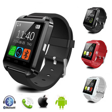 Original Bluetooth Smart Uhr U8 Smartwatch U Uhr Für iOS iPhone Samsung Sony Huawei Xiaomi Android Handys Gute als Geschenk Box