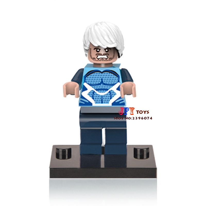 Single Sale star wars superhero marvel Quicksilver building blocks model bricks toys for children brinquedos menino