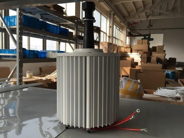 2kw AC 48v 96v 220v 230v low rpm brushless permanent magnet alternator for wind generators DIY