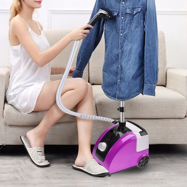 TOPINCN Garment Clothes Standing Fabric Steamer Wrinkle