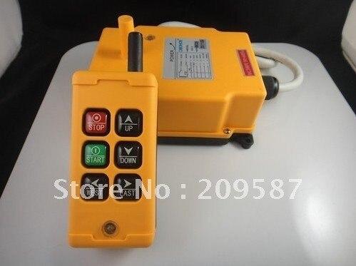 6 Channels Hoist Crane Radio Remote Control System HS-6 12V