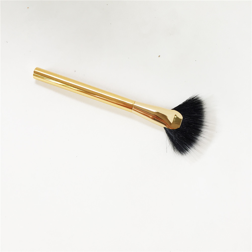 Lesm Laduree Cheek Pot For Face Color Roses Rose Gold A Brush Tt Series Fan Girl Portable Dual Fiber Golden