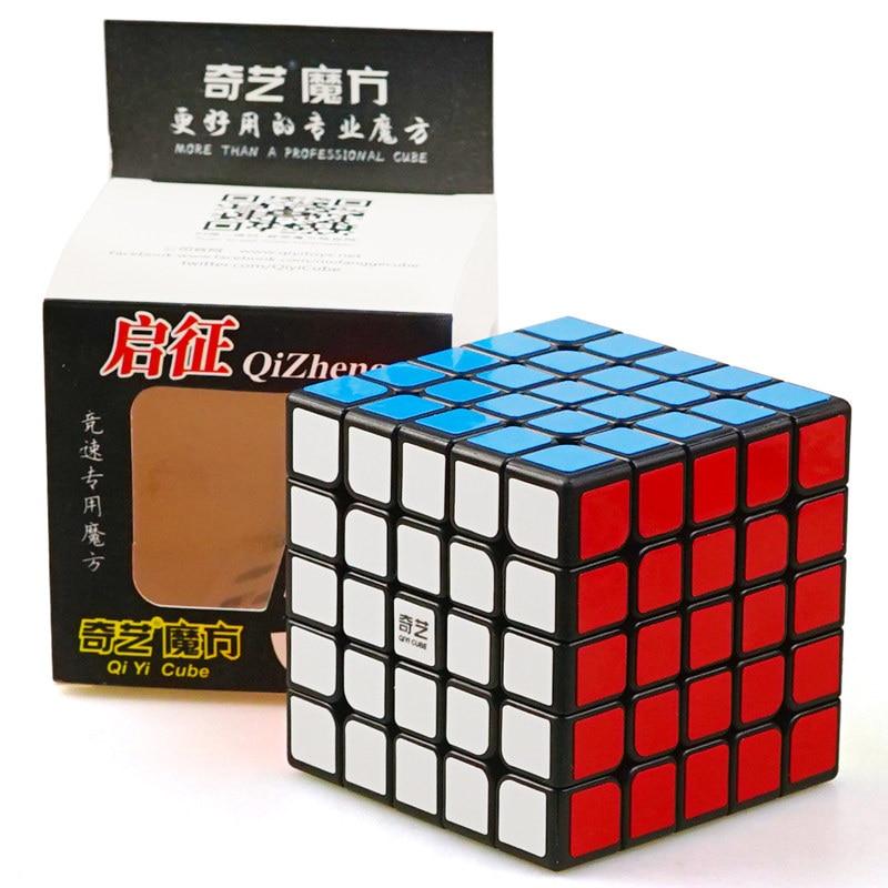 Neo Cube 5x5 Cubo Magico Qiyi Qizheng S Cubo mágico 5x5 Qizheng cúbico antiestrés 5 por 5 juguetes para niños