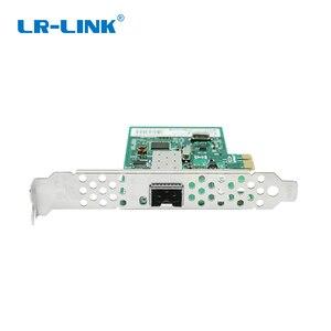 Image 3 - LR LINK 9270PF SFP جيجابت إيثرنت بطاقة الشبكة المحلية PCI E PCI اكسبرس x1 الألياف البصرية بطاقة الشبكة محول ريالتيك RTL8111H للكمبيوتر نيك