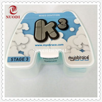 Mixed Dentition Dental Orthodontic appliance K3 for ages 5 10/MRC Orthodontic teeth trainer retainer alignment for Deep bite