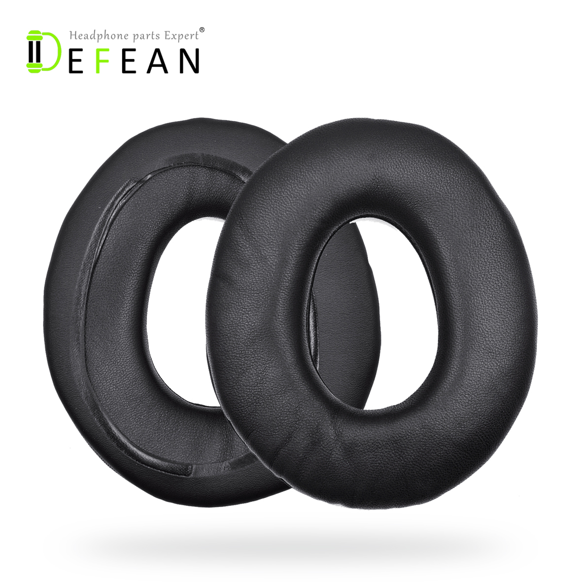 Defean Genuine Leather Ear Pads Cushion for Sony MDR CD1000 CD3000 CD750 CD850 CD950 CD headphones-in Earphone Accessories from Consumer Electronics