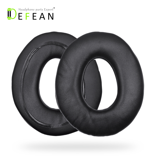 Defean Genuine Leather Ear Pads Cushion for Sony MDR-CD1000 CD3000 CD750 CD850 CD950 CD headphones