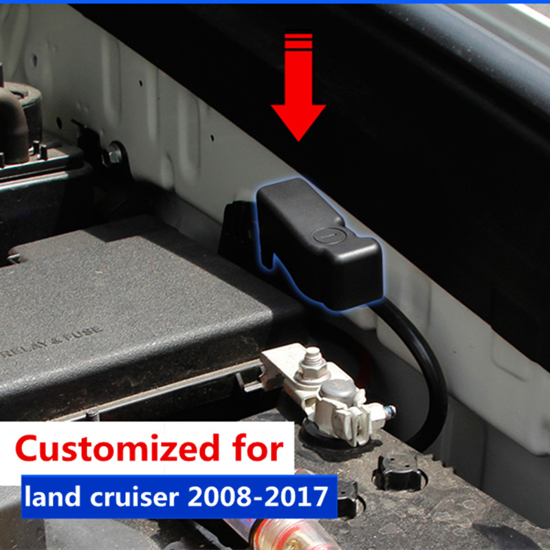 Car Battery Anode Protection Cover For Toyota Land Cruiser Prado Fj 150 J200 Accessories 2010
