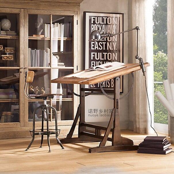Europea / país de américa pintado muebles de diseño escritorio ...