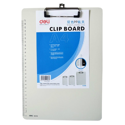 Office Stationery High Quality A4 Clip Board with Ruler Writing Board Clipboard articulos de oficina