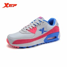 XTEP Brand Running Shoes for Women Athletic Sneakers Trainers Air Cushion Damping Non-slip Ladies Sports Shoes 985418325251