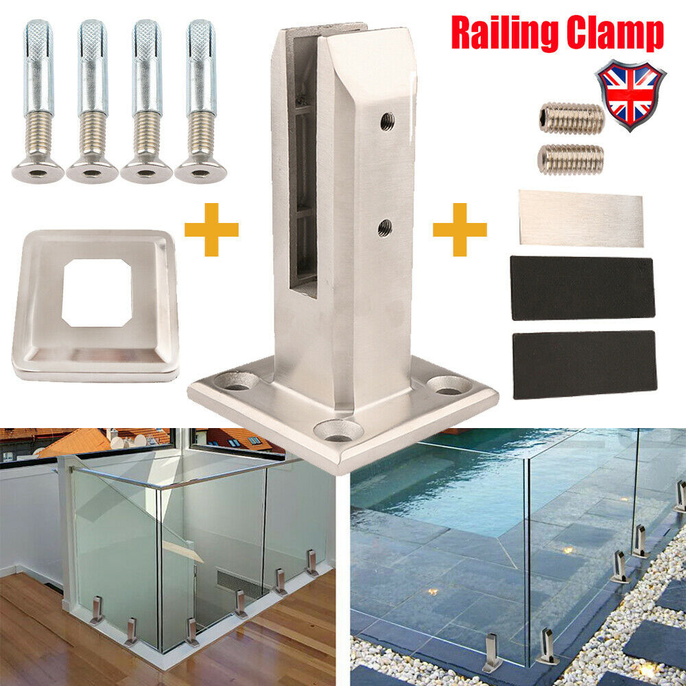 Stainless Steel Clamp Deck Mount Pool Fence Glass Fence Spigot