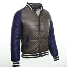 """2016 Winter new men """"s jacket Down mens down jacket thick section of the collision color Long-sleeved warm duck down jacket"""