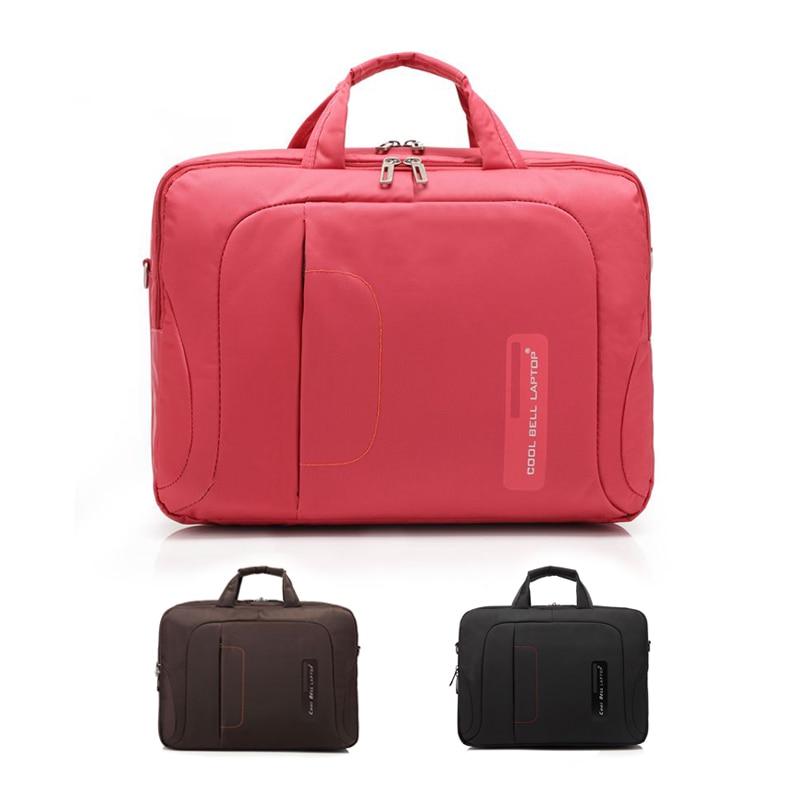 CoolBell Men &Women 15 Inch Laptop Bag Shockproof Business Men Briefcase Nylon Shoulder Bag For Dell / Lenovo Notebook Bags