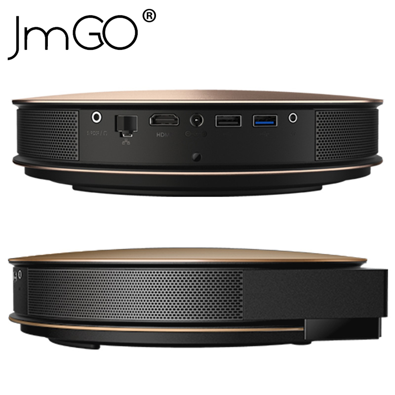 JmGO G3 Pro Projector 3D Android4.4 1200 ANSI Lumen Support 300 inch HiFi Bluetooth WIFI HDMI DLP Beamer Miracast Airplay