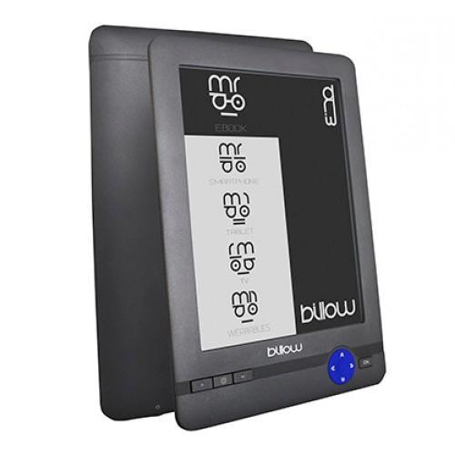 Électronique d'origine Billow écran De 6 encre livre tactile avec panneau e-ink PVI 800x600 4 GB Micro carte lecteur SD