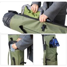 Outdoor Fishing Bag Carrier Storage Bags Rod Pole Portable Professional Multi-functional Waterproof Oxford Fabric Large Capacity