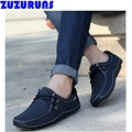 fashion men's genuine leather casual shoes breathable soft upper loafer driving casual shoes flats men ultra light shoes 2n76