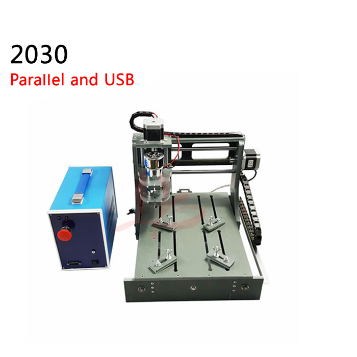3axis cnc milling machine 2030 diy woodworking cnc router 2 in 1 Parallel port and USB work area 200*300*75mm diy cnc router machine 2020 engraving drilling and milling machine with parallel port
