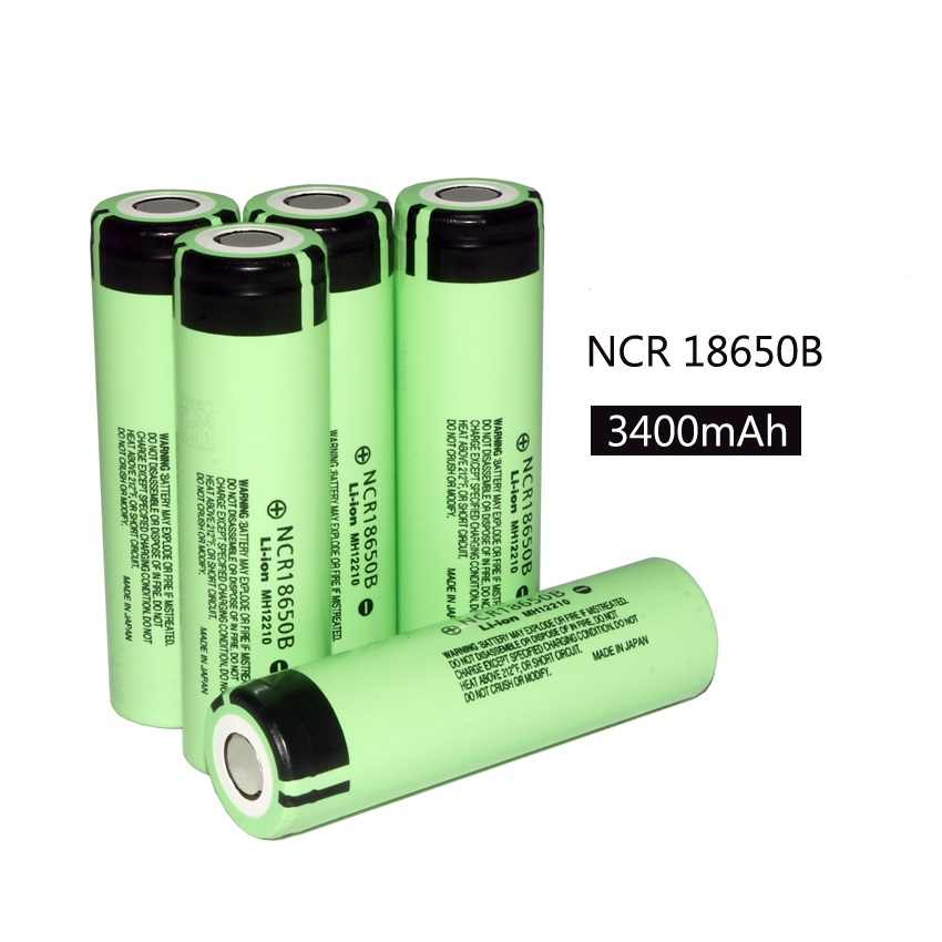 New Original NCR18650B 3400mAh 18650 power bank battery 3 7V Li-ion  Rechargeable battery for panasonic Power tools, Flashligh